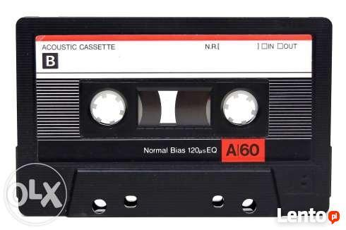 Przegrywanie kaset magnetofonowych na Płyty CD lub pendrive