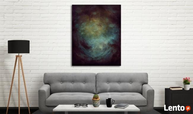 ABSTRAKCJA IV obraz na w 100% bawełnianym płótnie 100x80cm