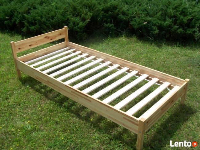 Sprzedaż łóżek sosnowych od producenta 90x200