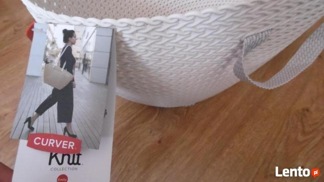 koszyk ażurowy: materiał plastyczny