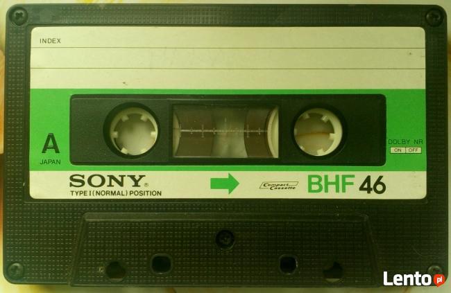 Kupię kasety magnetofonowe cała Polska