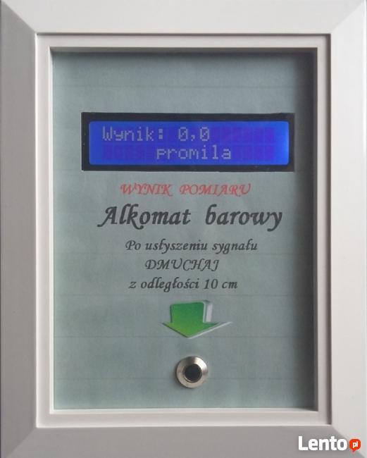Alkomat barowy na monety, tester zarobkowy na pieniądze