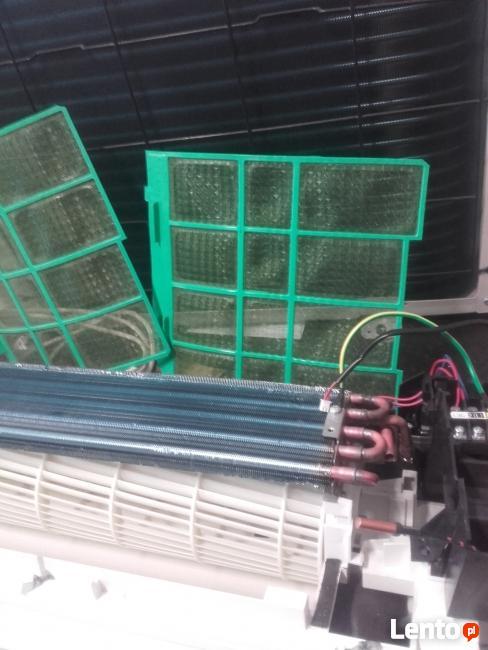 Części do klimatyzatorów NOWE parownik skraplacz sprężarka w