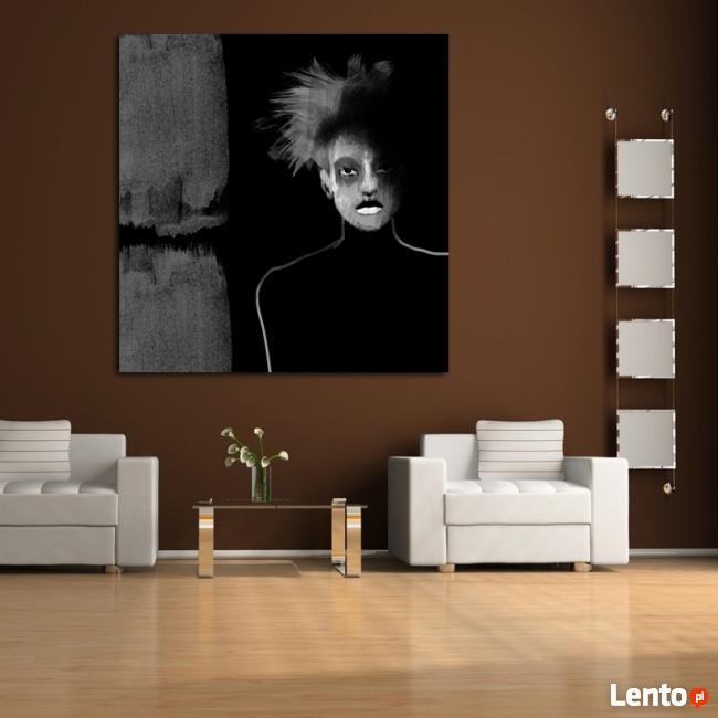 PEWIEN RODZAJ UCZUCIA obraz na bawełnianym płótnie 100x100cm