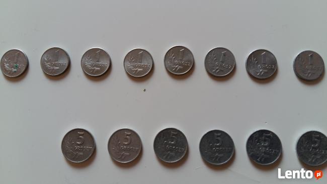 Zestaw monet polskich z lat 1949 - 1990
