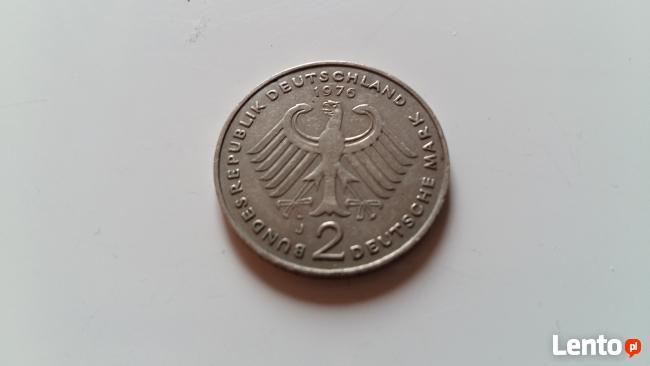 Moneta RFN - 2 Marki 1976