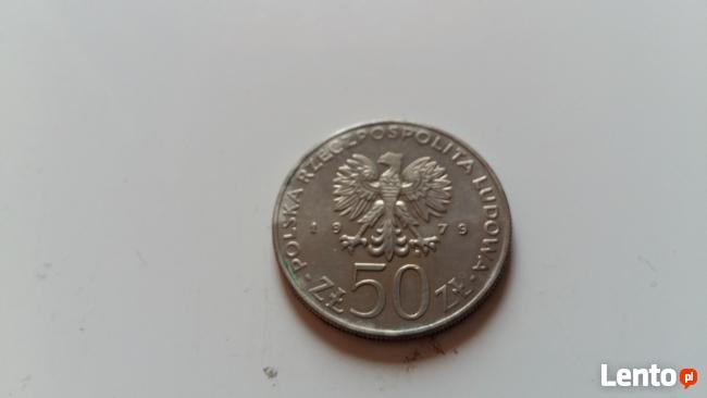 Moneta 50 zł Mieszko I rok 1979