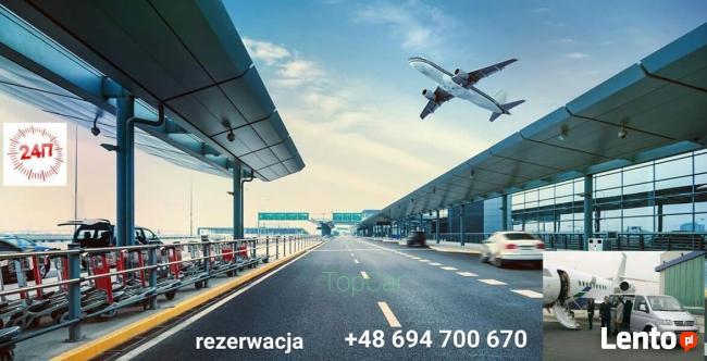 Przewozy na lotniska, zamów busa (Mazury, Podlasie)