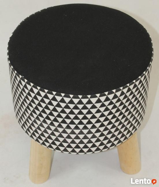 stylizowany podnóżek taboret stołek siedzisko