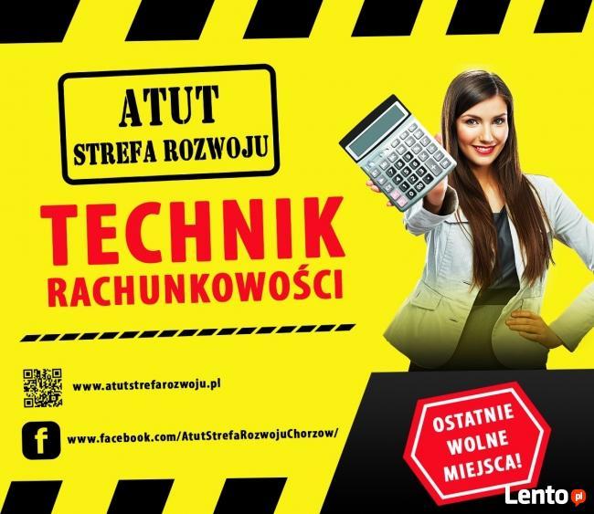 Technik Rachunkowości za o zł w ATUT Strefa Rozwoju !