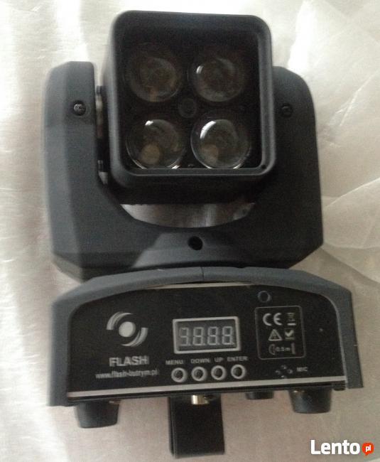 Głowica ruchoma LED w promocyjnej cenie
