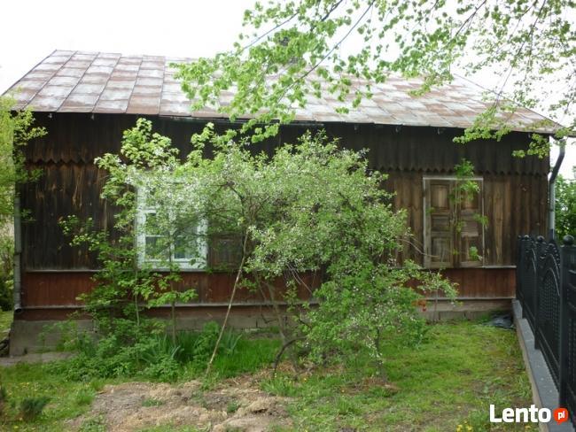Sprzedam drewniany dom szlowany z bali do przeniesienia