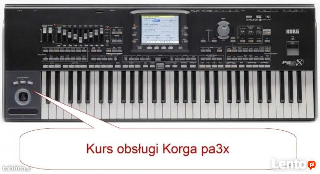 Korg pa3x pa4x pa1000 pa700 - porady, pomoc techniczna