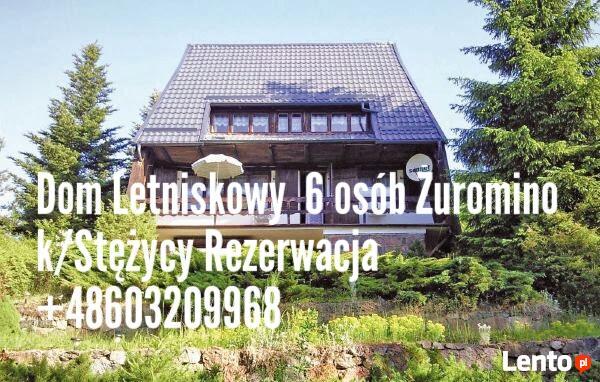Kaszuby Pomorskie Żuromino Dom letniskowy