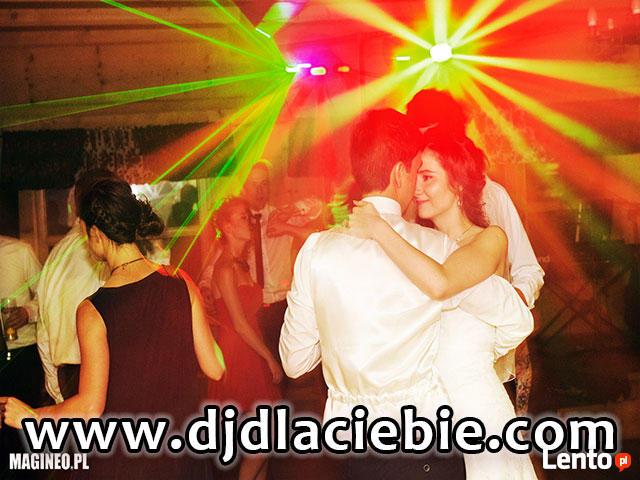 super DJ na wymarzone WESELE, imprezę = nagłośnienie, oświet
