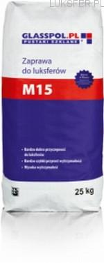 Akcesoria do pustaków szklanych – klej M15, krzyrzyki, pręty