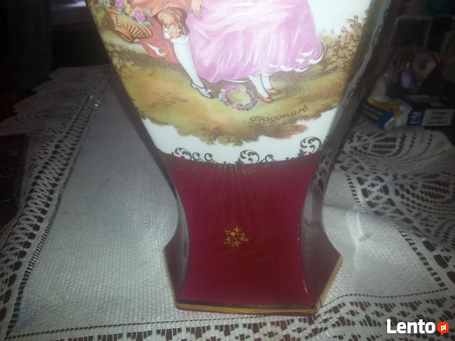 Wazon porcelana LIMOGES la reine
