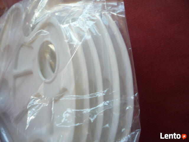5 sztuk Paleta malarska plastikowa owalna 24 x 17 cm