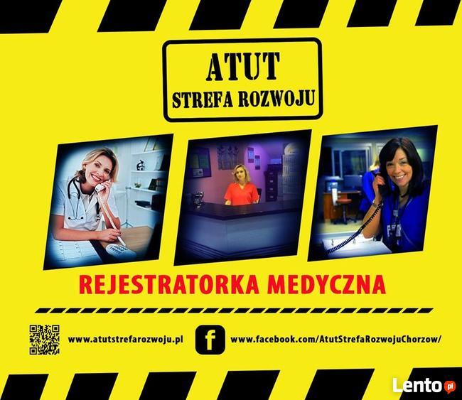 rejestratorka medyczna - kurs w ATUT Chorzów - zaśw. MEN