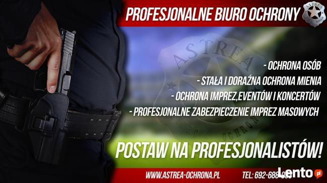 Agencja ochrony, ochrona mienia, ochrona imprez Sochaczew