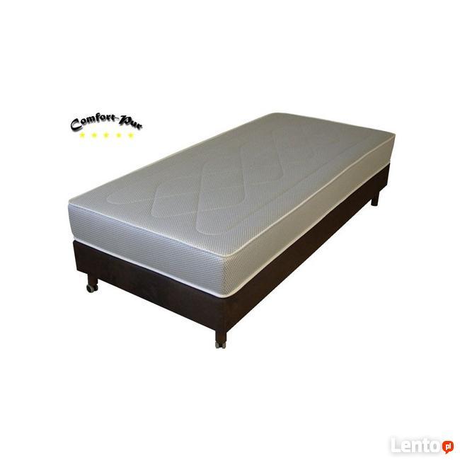 łóżko Hotelowe Z Materacem Kieszeniowym 90 X 200 Cm Toruń