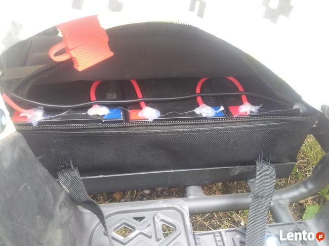 Mini Quad dla dzieci elektryczny 800W 3 akumulatory