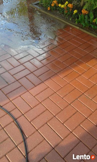 Mycie,czyszczenie -kostki brukowej,dachów,tarasów, elewacji