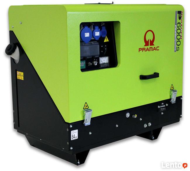 Agregat prądotwórczy trójfazowy Pramac P6000S