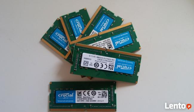 DDR4 4GB Crucial PC4-17000 DDR4-2133 MHz Non-ECC- sodimm.