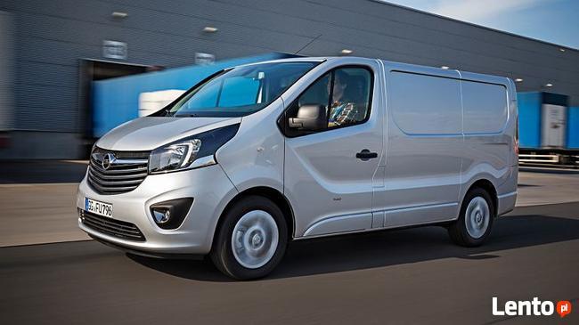 Opel Vivaro Furgon Edition w Leasingu bez BIK i KRD