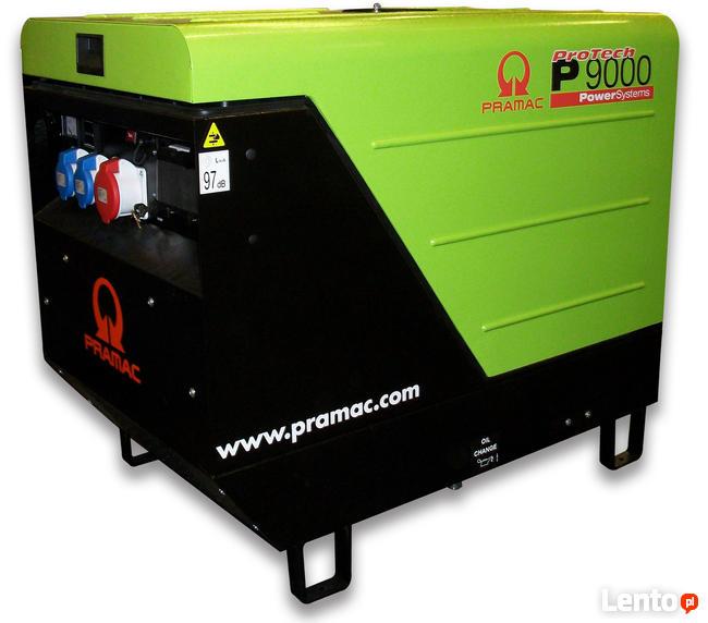 Agregat prądotwórczy trójfazowy Pramac P9000 AVR