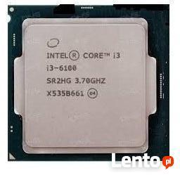 INTEL Core i3 6100 3,7GHz-6 generacja.