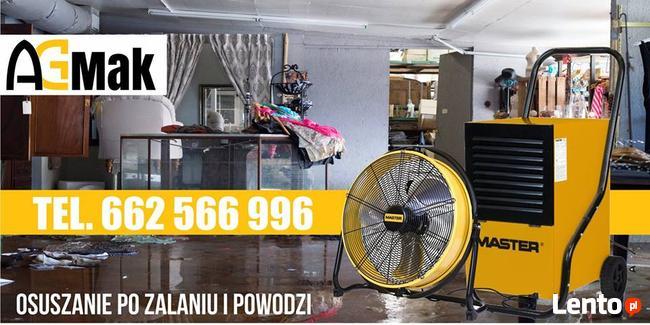 AGMAK Osuszanie budynków po zalaniu Lublin i woj. lubelskie