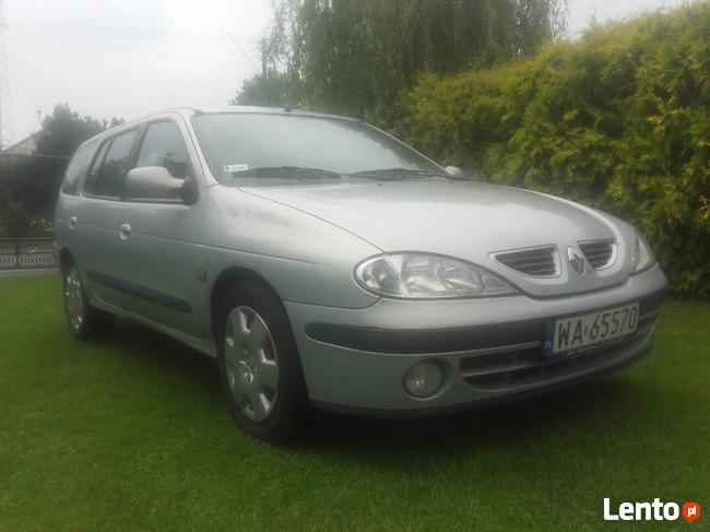 Renault Megane. najbogatsza wersja. skóra.klima