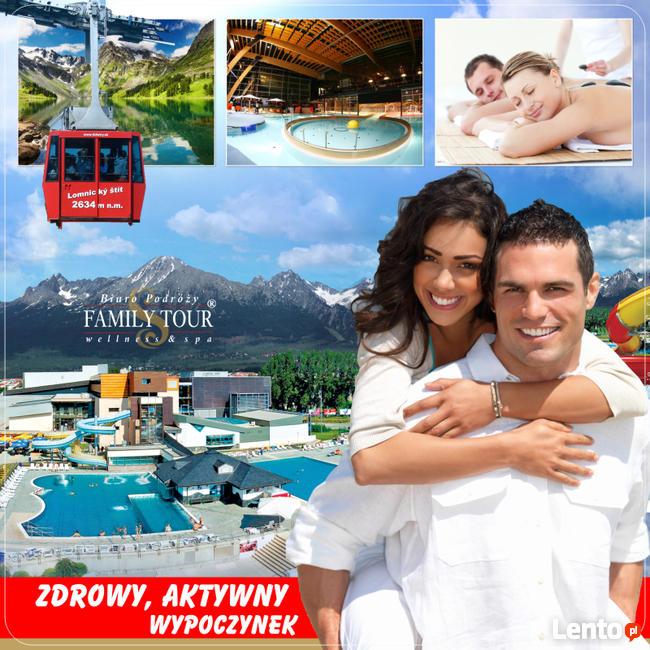 Poprad - wSPAniały wypoczynek w Tatrach z mnóstwem atrakcji
