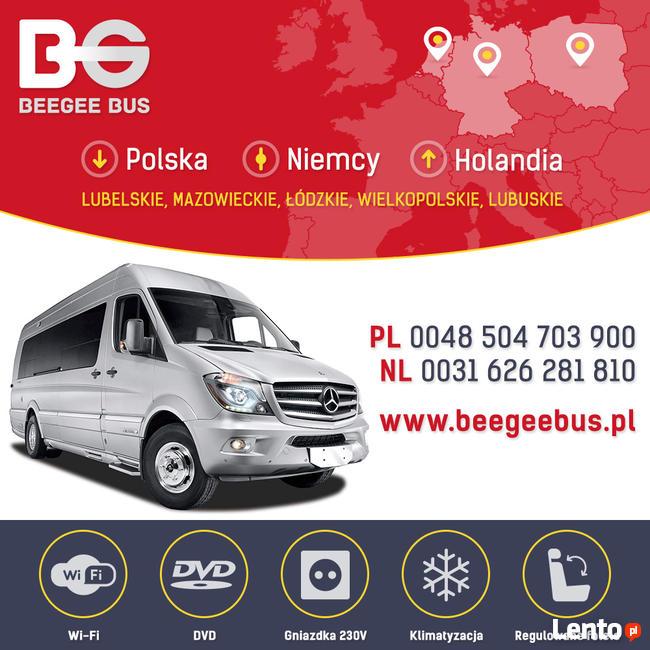 beegee bus przew z os b polska niemcy holandia free wifi. Black Bedroom Furniture Sets. Home Design Ideas