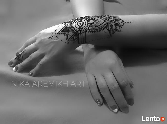 Tymczasowy Tatuaż Henna Kraków Kraków