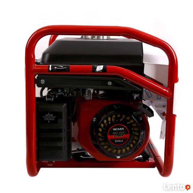 Agregat prądotwórczy WEIMA WM2500 (2,5 KW, jednofazowy)