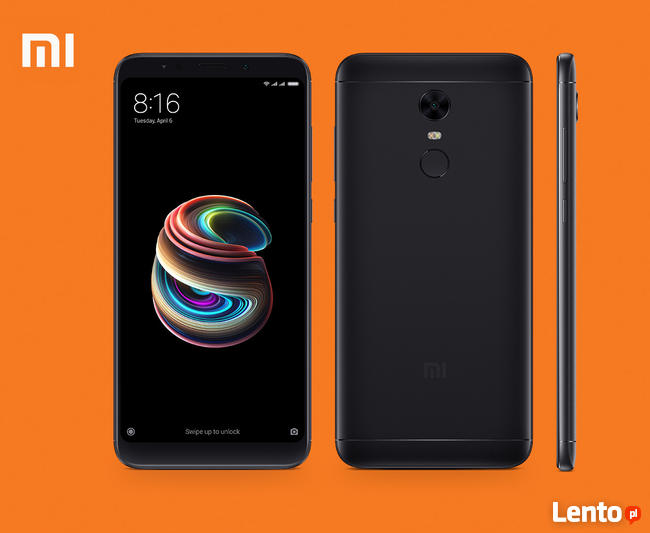 Telefon Xiaomi Redmi 5 PLUS 4GB RAM 64GB 12 MP