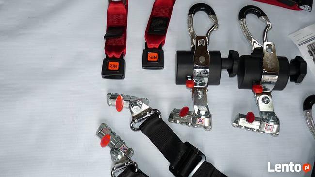 Mocowanie wózka inwalidzkiego - pasy amf bruns - nowe