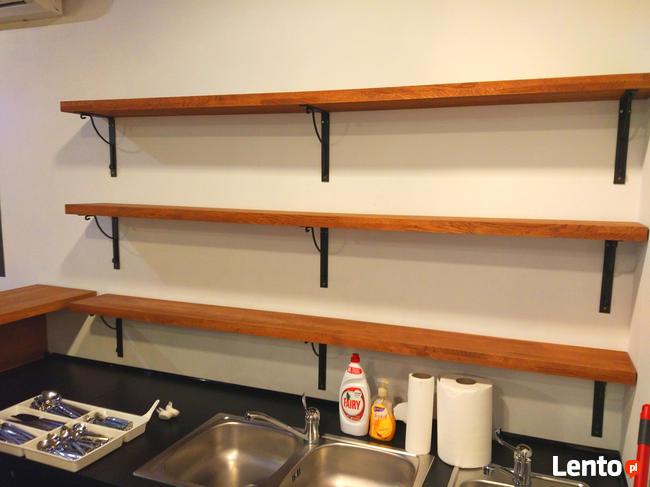 Półki Drewniane Dębowe