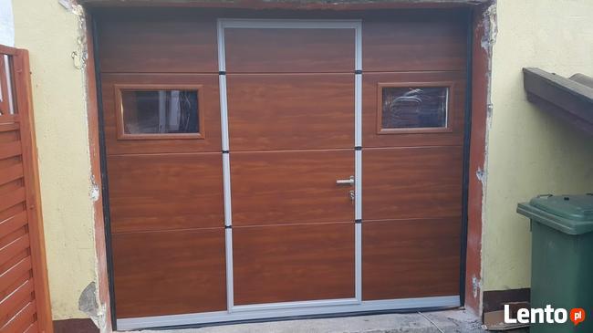 Wybitny Ocieplone bramy garażowe segmentowe(drzwi)na wymiar Lubichowo IA72