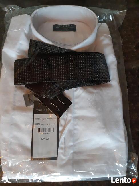 elegancka koszula z krawatem