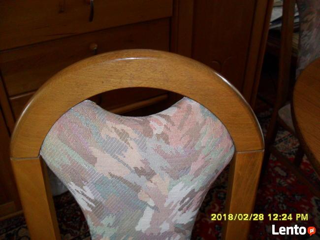 Krzesla rustikalne,debowe.