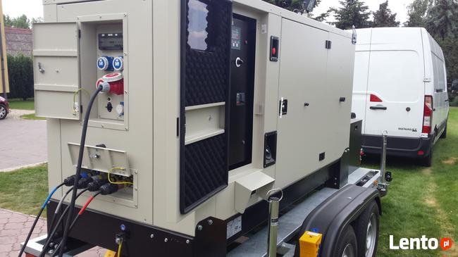 Agregaty prądotwórcze - wynajem Usługi. Minikoparka -usługi
