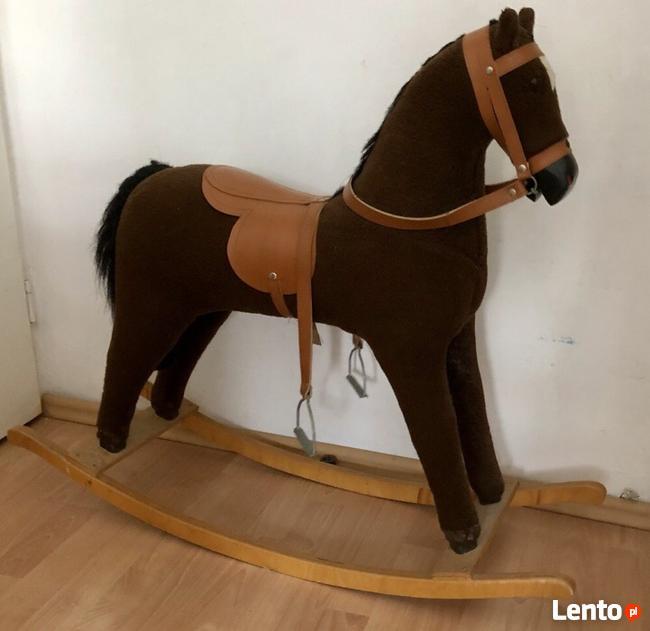 Koń Na Biegunach Prezent Drewno Plusz Drewniany Leszno