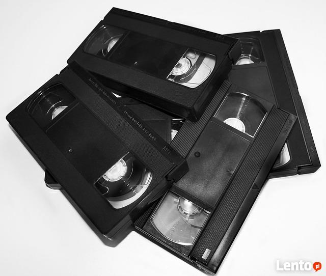 Przegrywanie kaset VHS i miniDV na DVD