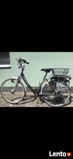 Holenderski rower spalinowy Saxonette Luxus
