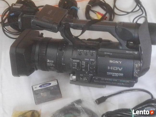 Sprzedam kamerę SONY HDV + sprzęt towarzyszacy