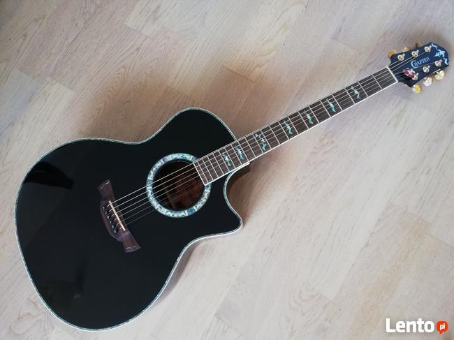 Gitara Elektroakustyczna CRAFTER GAE 33/BK z futerałem